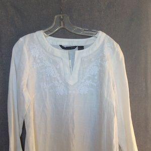 White Linen Tunic 💥NWT💥 ~ Size Large